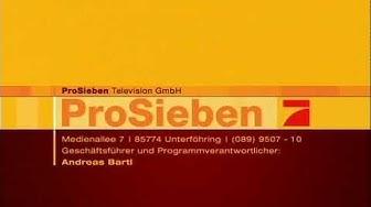 ProSieben Impressum 2006