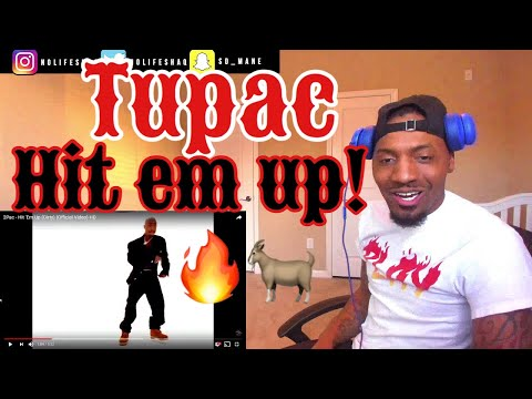 Ja Rule can never be him! |  2Pac - Hit 'Em Up | REACTION