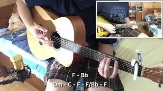 (NDC Worship) Berkat KemurahanMu - Guitar Cover + Tutorial Kunci (Chord Notation)