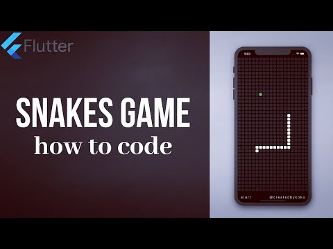 SNAKE GAME • FLUTTER TUTORIAL