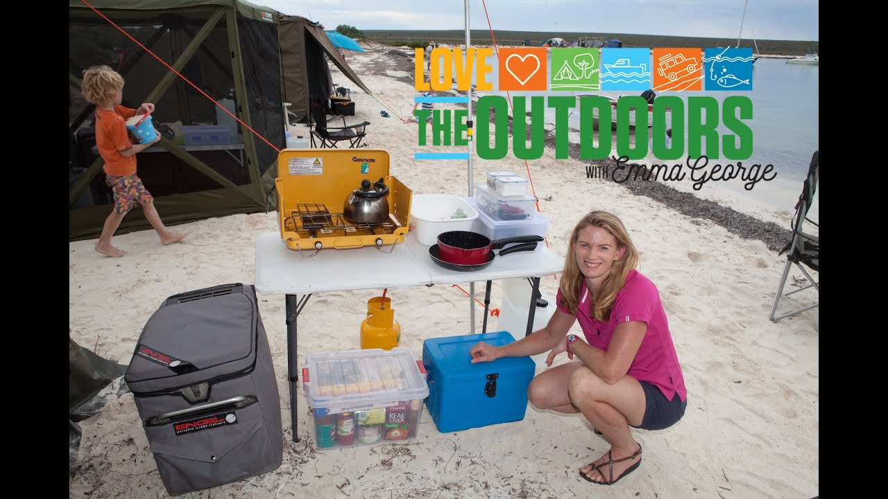 How To Set Up A Basic Outdoor Camp Kitchen