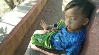 Kids play outside with music | chhay ma |