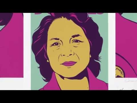 Dolores Huerta, Portrait in Minute