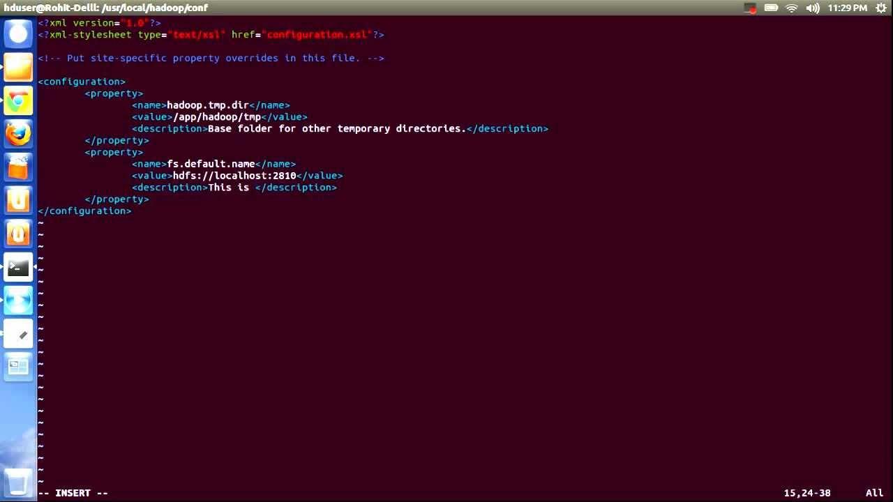 Part 2: Hadoop Core Installation on Ubuntu 12.10 - YouTube