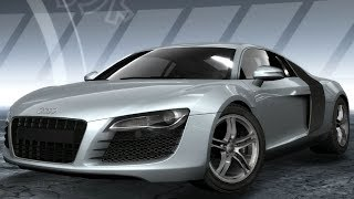 Need For Speed: ProStreet - Audi R8 - Test Drive Gameplay (HD) [1080p60FPS]