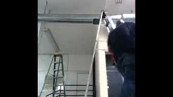 One man spiral duct install