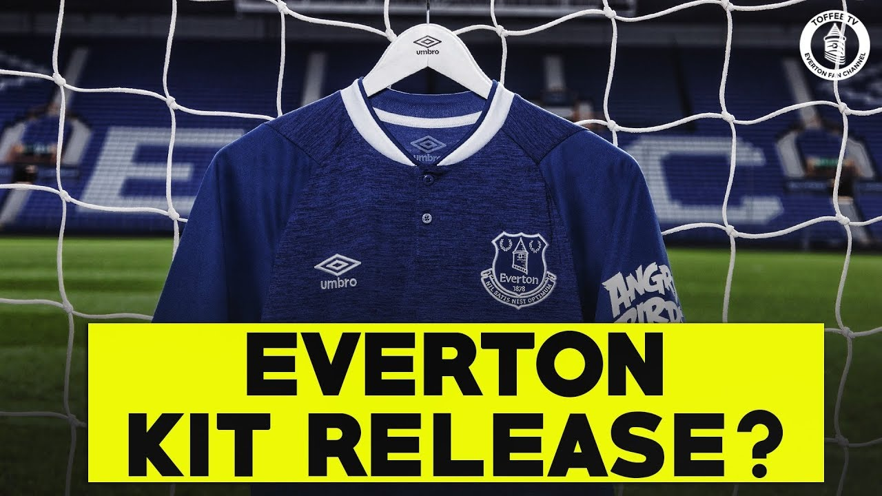 new style b8aeb eea67 When Will The New Everton Kit Be Released?