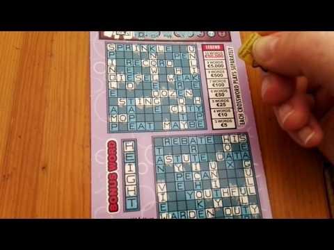 Crossword plus, Irish National Lottery - #178