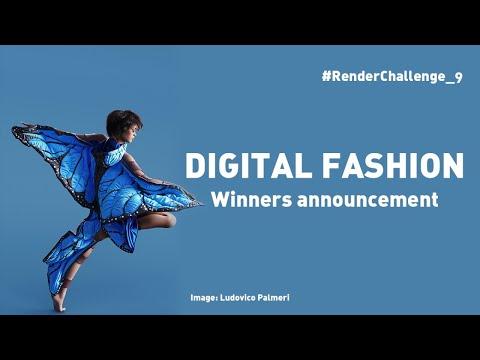 Render Challenge 9 - Digital Fashion - Winners Announcement