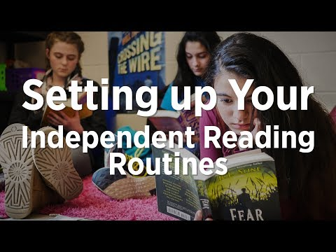 Setting Up Your Independent Reading Routines