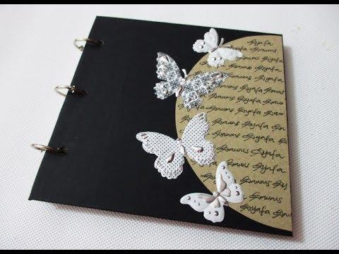 DIY #187   Vintage Notebook - Easy & Beautiful ❤