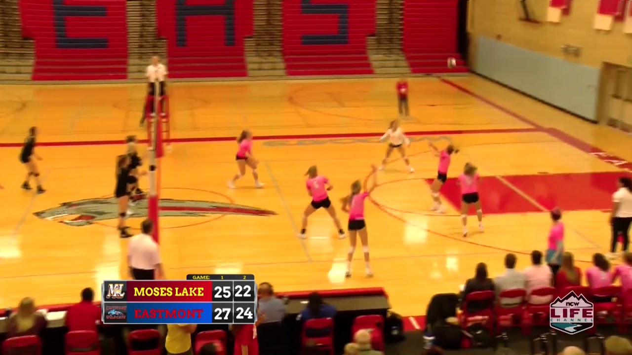 Eastmont vs Moses Lake Volleyball Highlights 2019-10-08