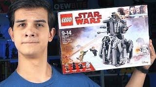 LEGO Звёздные Войны - ШАГОХОД - Набор На Обзор (75177)