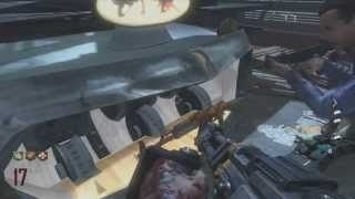 Black Ops 2 Zombies: DEATH MACHINE Pack-A-Punched (Upgraded) - MEAT GRINDER