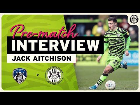 PRE MATCH Jack Aitchison on Oldham Athletic