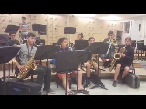 We Are Number One but It's Played by a High School Band