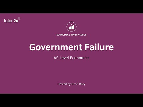 government intervention occurs in markets to