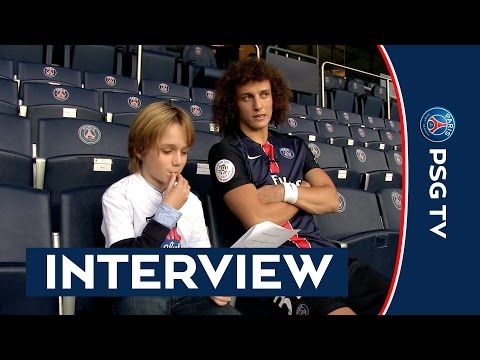 INTERVIEW DAVID LUIZ - JUNIOR CLUB