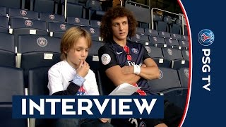 INTERVIEW DAVID LUIZ - JUNIOR CLUB