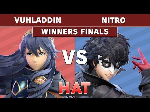 HAT 79 - Vuhladdin (Lucina) Vs. Nitro (Joker) Winners Finals - Smash Ultimate