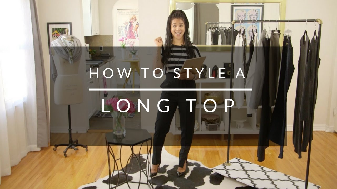 How To Style Long Tops