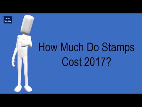 How Much Do Stamps Cost 2017 Youtube