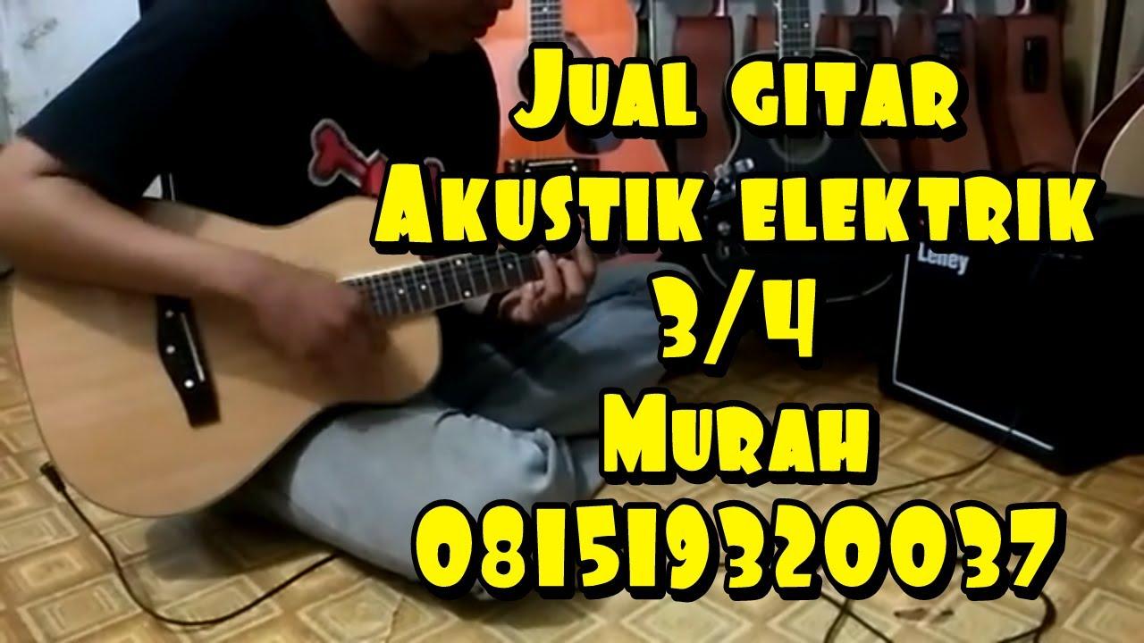 Gitar Akustik Elektrik 3  4 Martin U0026co Custom