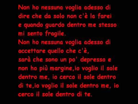 Il Sole Dentro Di Me Pino Daniele ft J Ax+Testo