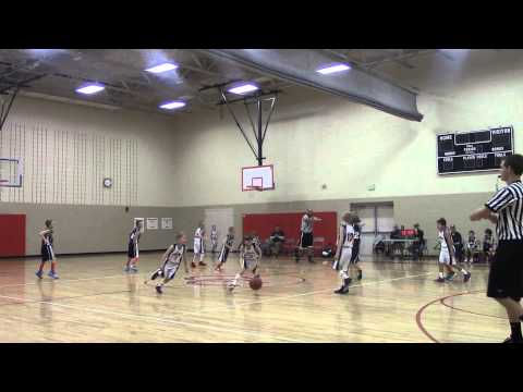 4th Grade Hawks Platinum Game 5 2013-14 Season