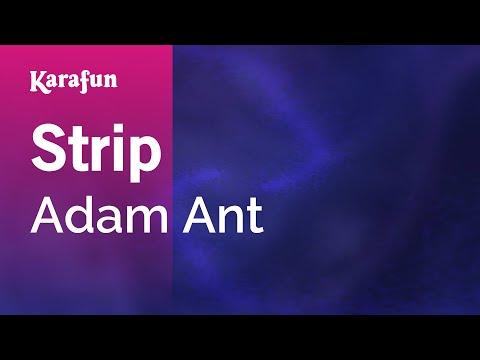 Karaoke Strip - Adam Ant *
