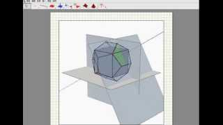 Cube in the dodecahedron