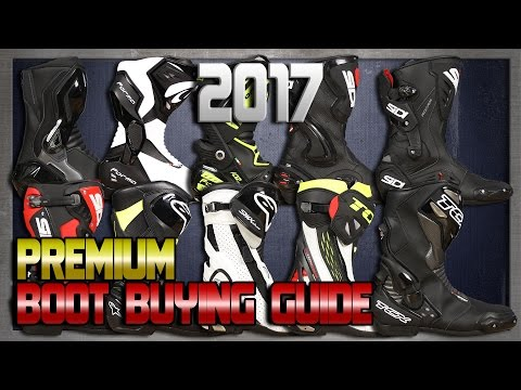 2017 Premium Boot Buying Guide from Sportbiktrackgear.com