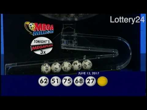 2017 06 13 Mega Millions Numbers and draw results