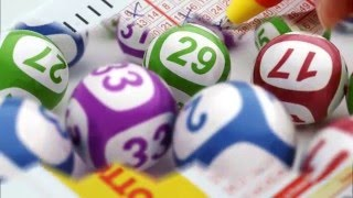 The most frequently drawn lotto  numbers