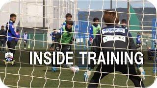 【FC岐阜】INSIDE TRAINING 2020年3月3日