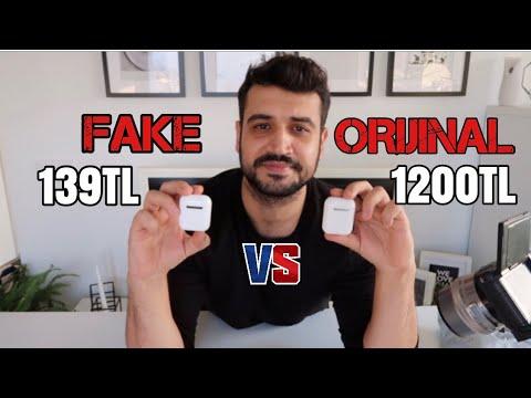 139TL vs 1200TL AİRPODS | BEN KANDIRILDIM SİZ DE KANDIRILMAYIN | TWS İ9S