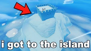 I got to the ICEBERG in Fortnite using this GLITCH...