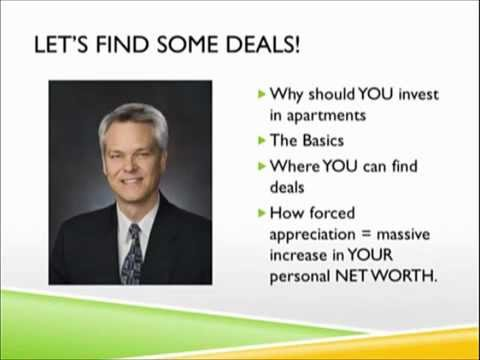Apartments and Money - Learn from the pros!