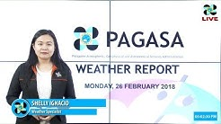 Public Weather Forecast Issued at 4:00 PM February 26, 2018