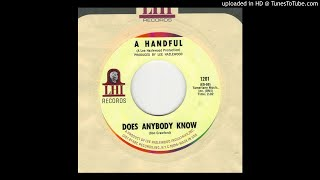 A Handful - Does Anybody Know