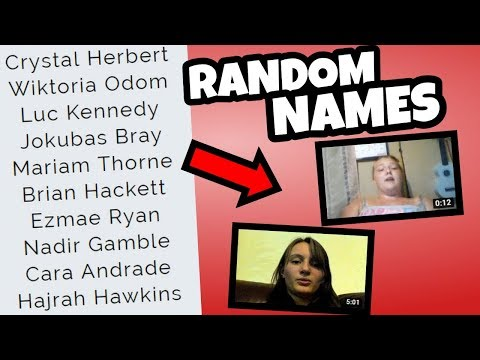 REACTING TO RANDOM NAME GENERATED CHANNELS