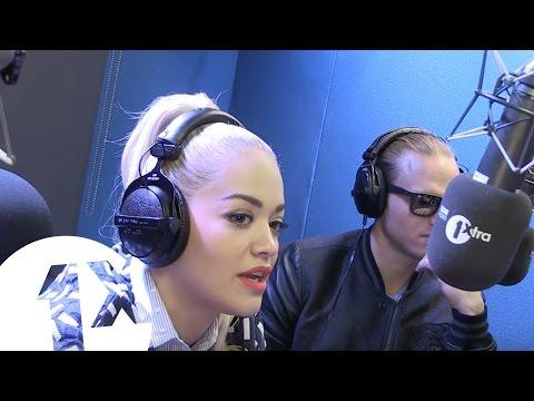 Rita Ora Talks Mobos With Section Boyz