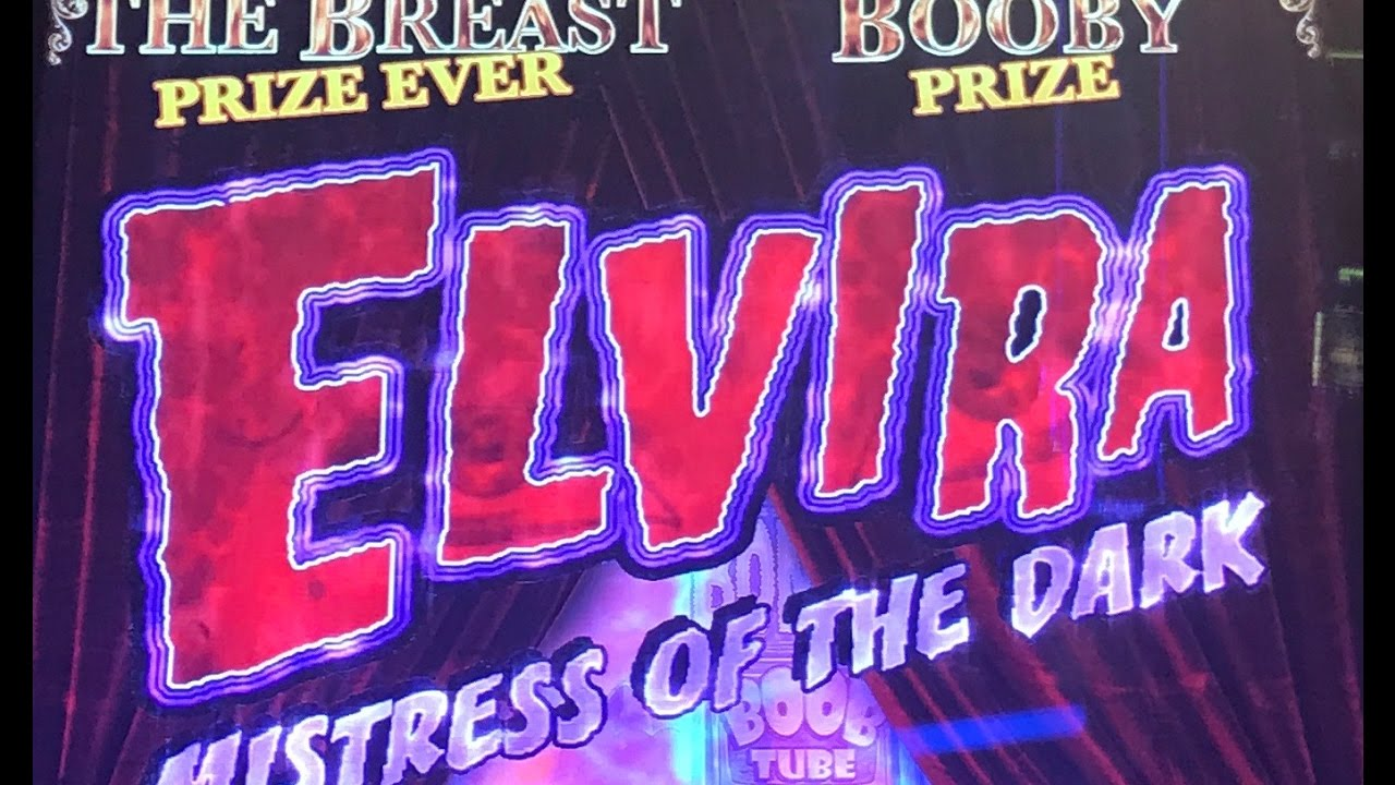 ELVIRA SLOT MACHINE BONUS-LIVE PLAY - YouTube