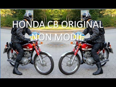Honda Cb 100 Original Gelatik Classik Non Modif Youtube