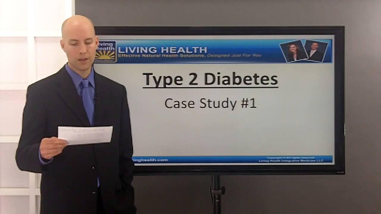 case study on diabetes type 1