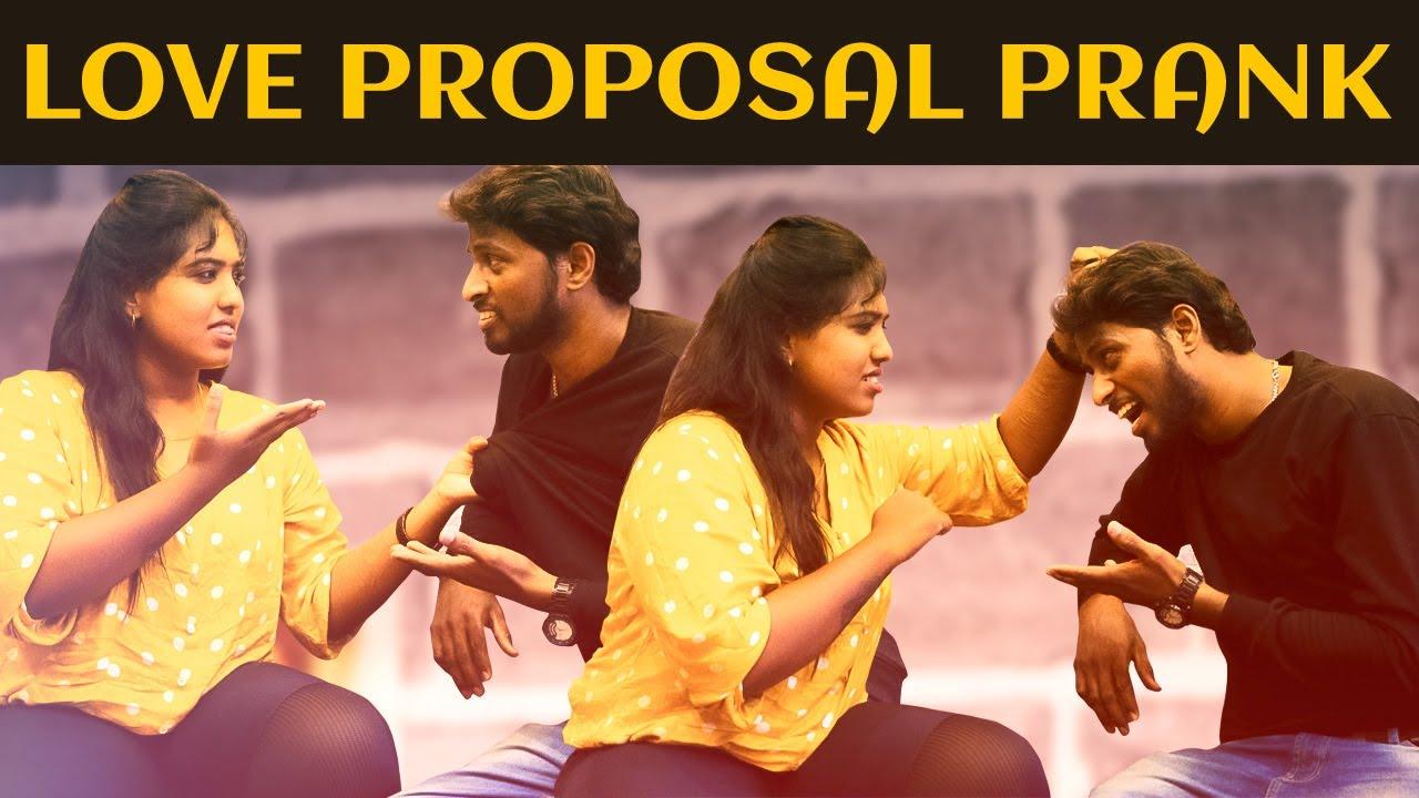 Love Proposal Prank | Prankster Suresh | Ka Ka Ka Po