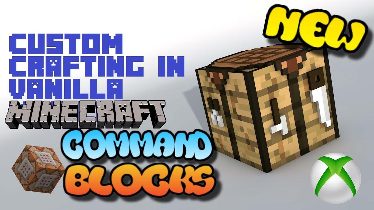 Xbox Minecraft Crafting Block