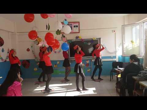 Animasyon dans gösterisi çocuk gelişimi  ateş böceği YHÇ