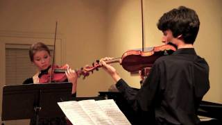 Shostakovich: Five Pieces for Two Violins - Dana Johnson, Giancarlo Latta