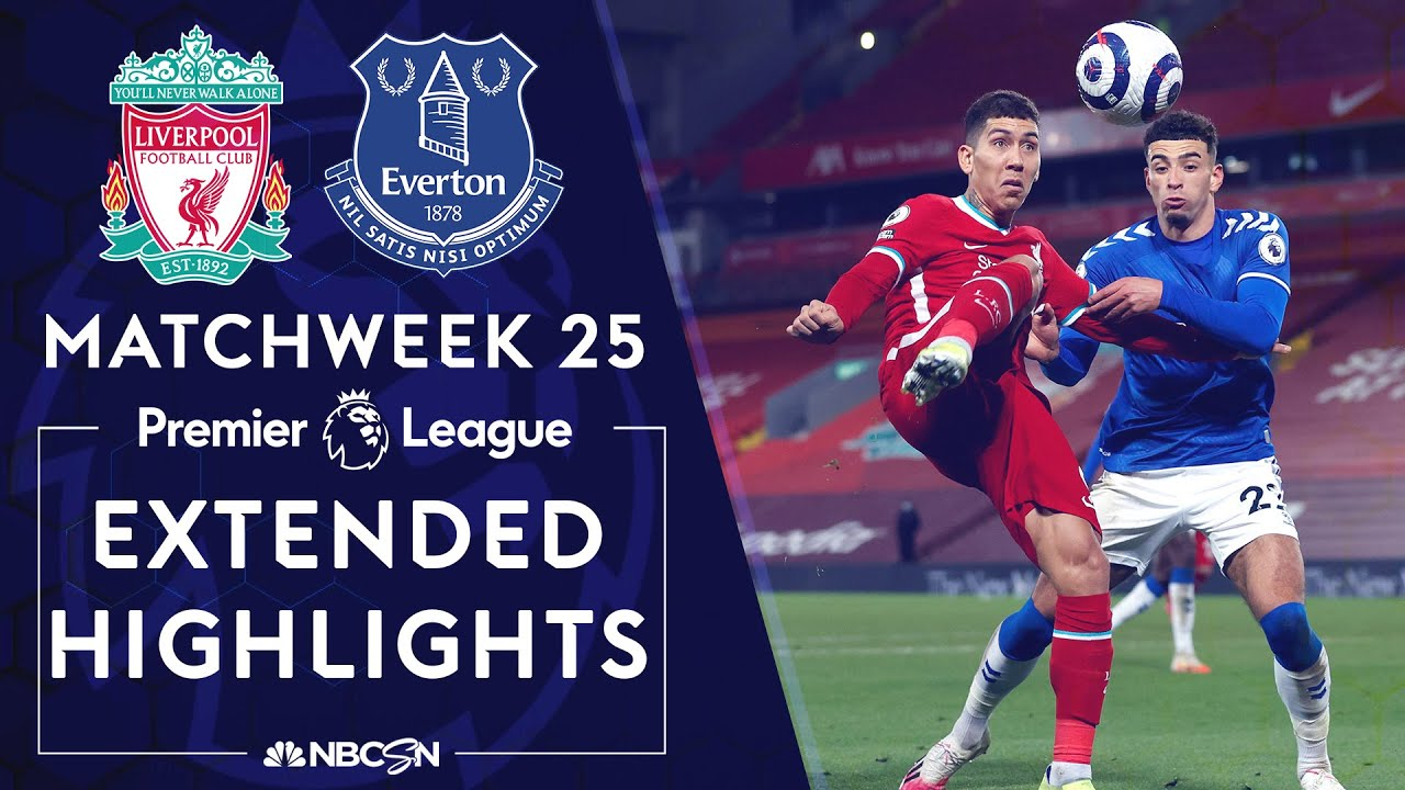 Liverpool v. Everton | PREMIER LEAGUE HIGHLIGHTS | 2/20/2021 | NBC Sports